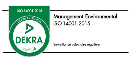 Certification DEKRA ISO 14001:2015 ISEKI
