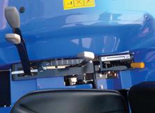 Tracteur ISEKI TLE3400 commandes