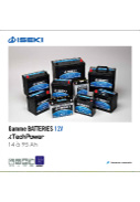 Plaquette ISEKI Batteries i-tech Power